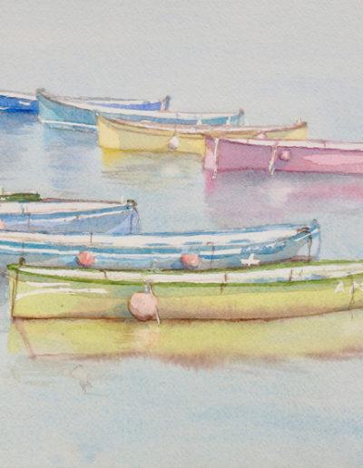 Aquarelles-barque