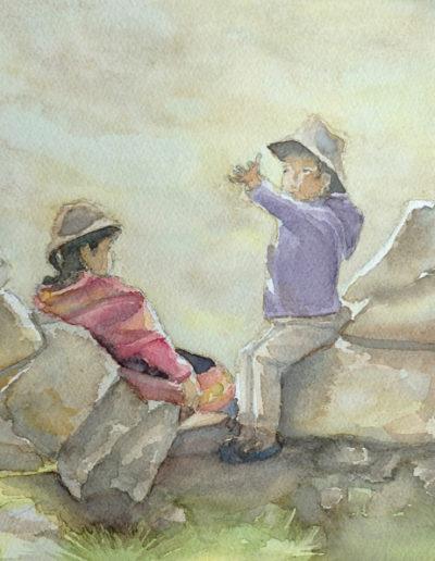 Aquarelles-enfants