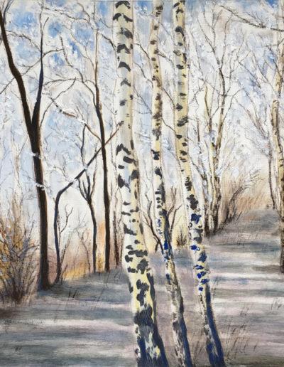 Huiles-arbres-neige