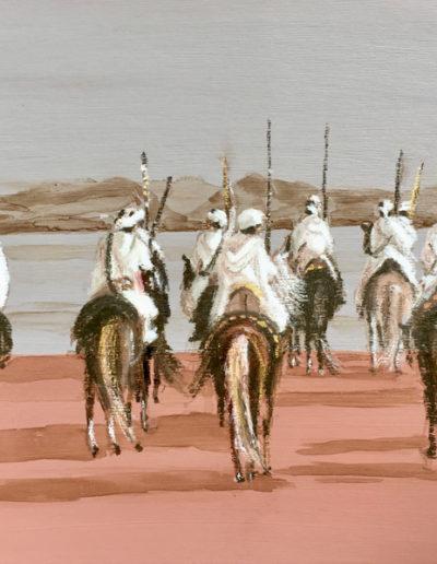 Pastels-gras-cavaliers