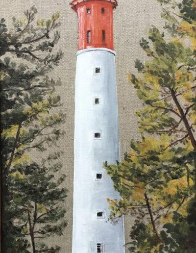 Tableaux phare du Cap Acrylique 01