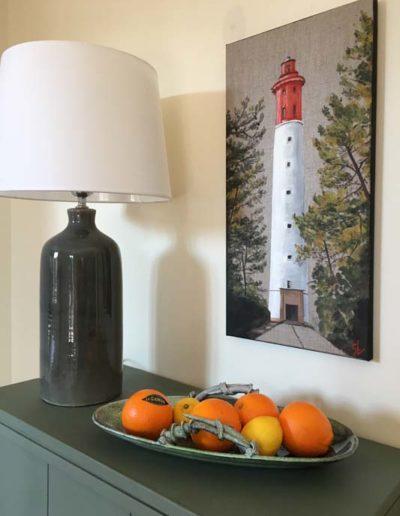 Phare du Cap Ferret Acrylique sur toile