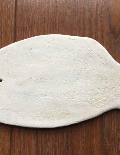 Tableaux poissons terre cuite 4