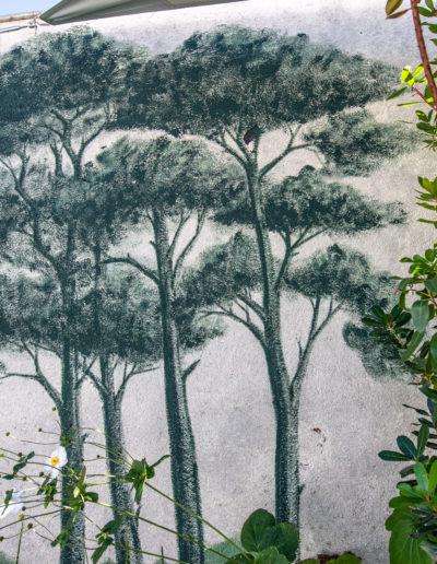 Fresques murale Pind des landes Bordeaux