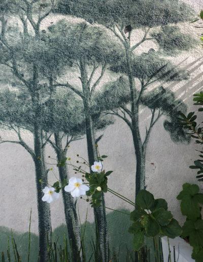 décor peint avec les peintures Ressources